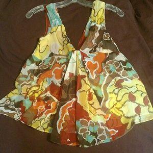 Diane Von Furstenberg Tank blouse